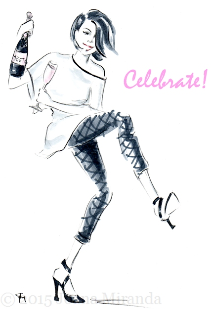 Celebrate girl for blog