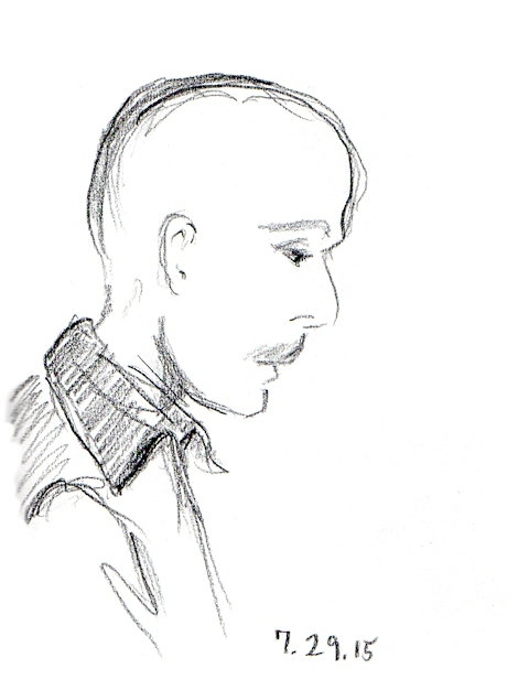 Sketch of John Moses