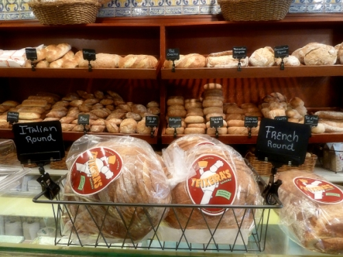 Breads at Teixera's bakery in the Ironbound district