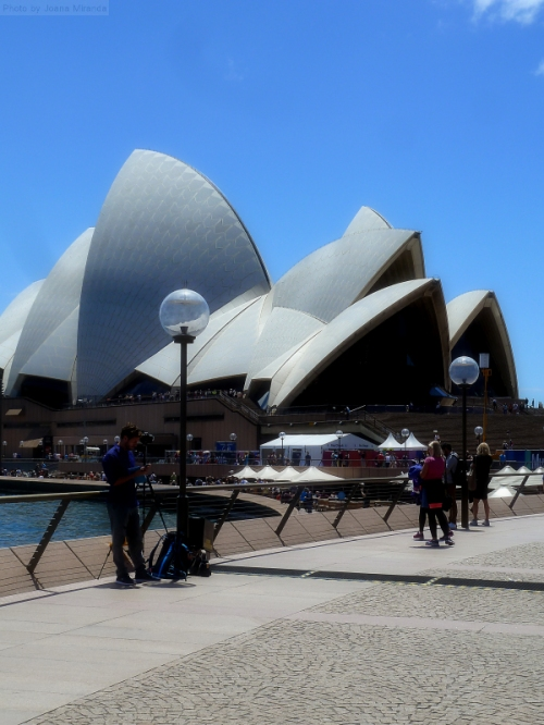 Another view of the Sydney Opera House