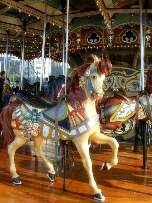 Jane's Carousel horse