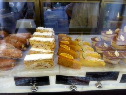 Lovely assortment of cakes