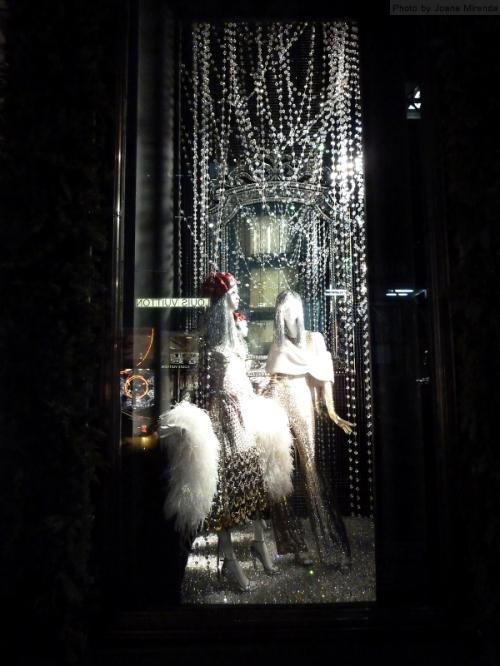 2015 Bergdorf Goodman sparkly windows