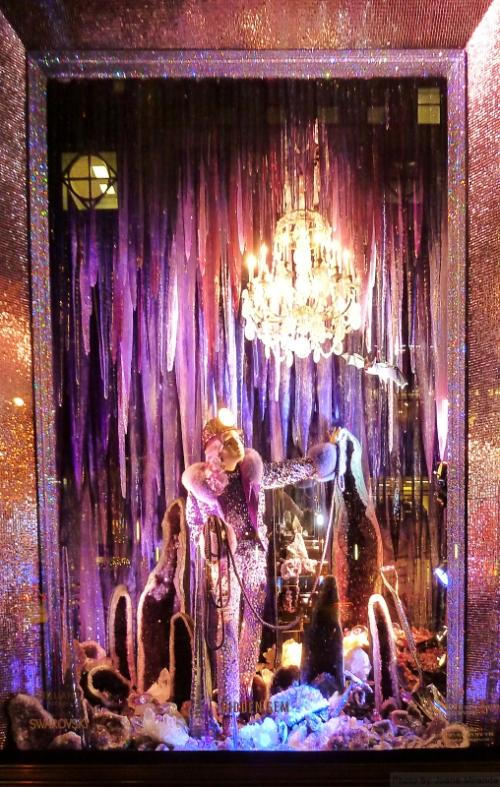 Hidden Gem 2015 Bergdorf Goodman holiday window