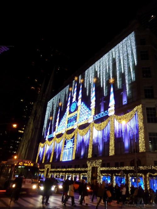 Sak's holiday 2015 decorations