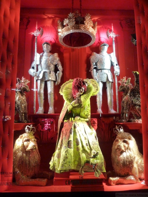 The Crown Jewel 2015 Holiday Window at Bergdorf's