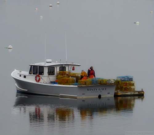 Misty Gale lobster boat in Kittery, ME