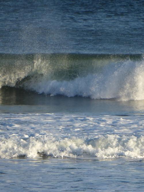 Ocean spray in Maine