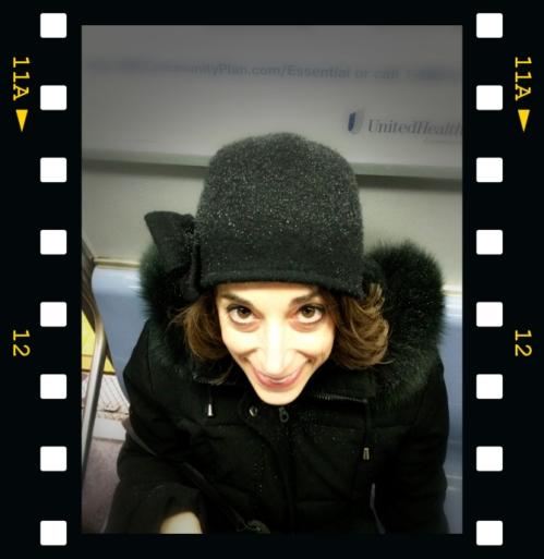 Photo of Joana during Storm Jonas