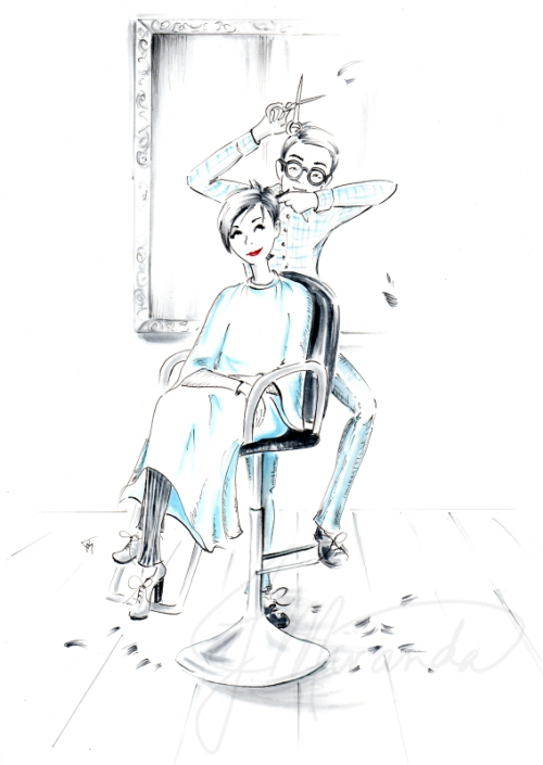The haircut watermarked for blog