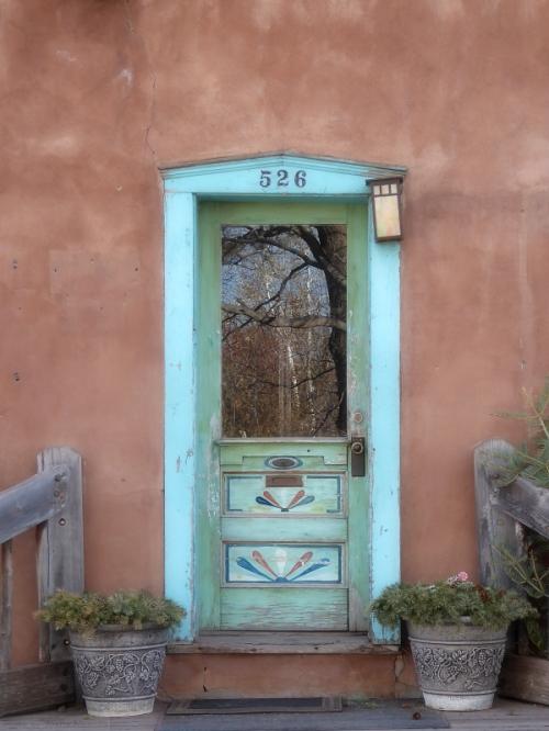 Santa Fe doorway 2