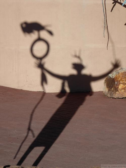 Shadow in Santa Fe