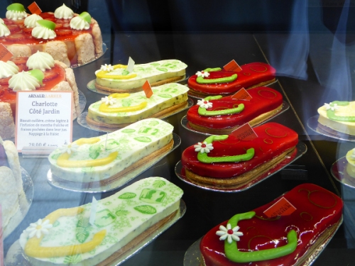 Cake flip flops