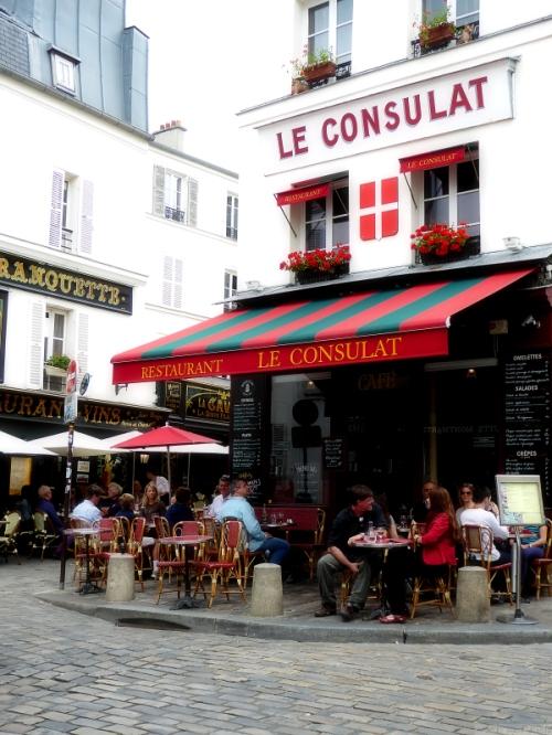 Le Conculat Restaurant in Montmartre