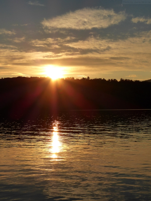 Goose Pond sunset