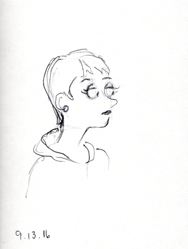 cartoon-sketch-of-women-with-pixie-haircut