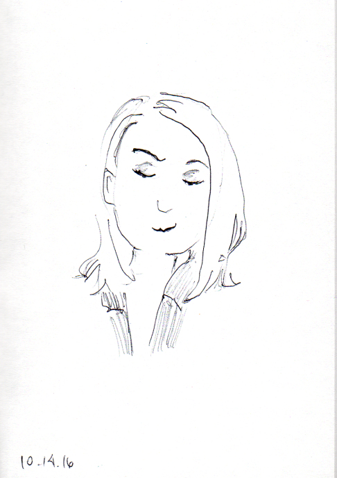 quick-sketch-of-preppy-middle-aged-woman