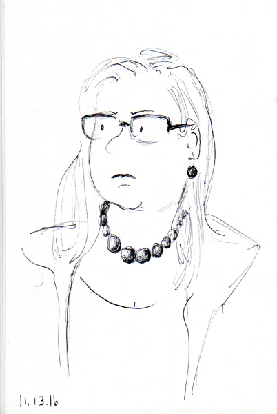 quick-sketch-of-middle-aged-woman-with-red-bead-necklace