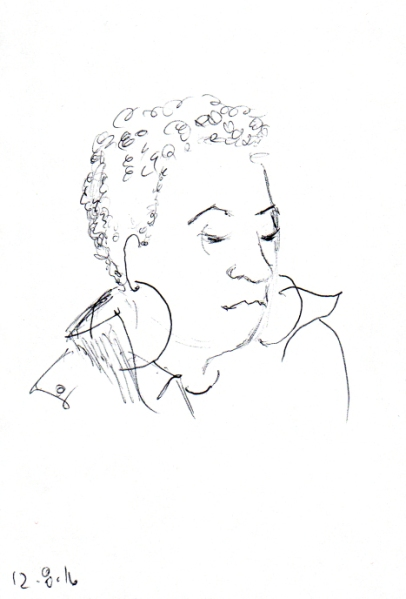 quick-sketch-of-woman-with-big-hoop-earrings