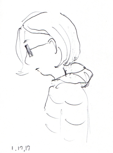 profile-quick-sketch-of-woman-with-a-bob-haircut-and-glasses