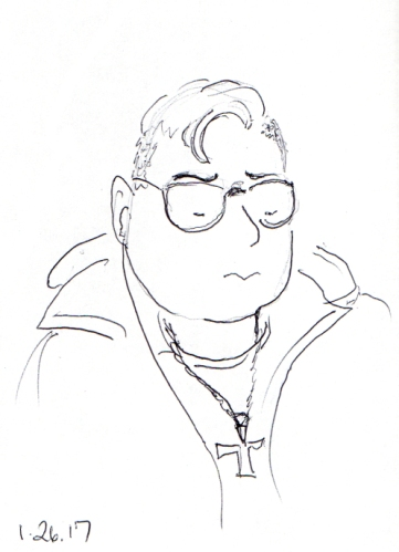 quick-cartoon-sketch-of-man-wearing-cross-necklace