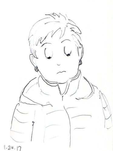 quick-cartoon-sketch-of-middle-aged-woman-with-short-hair